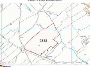 Sale plan of land
