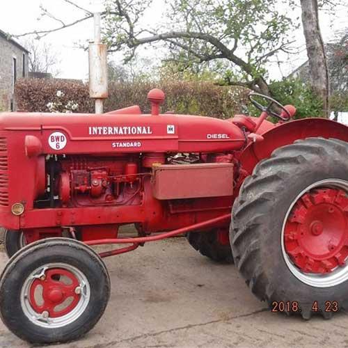 Farm machine sales